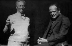 With Paul Klee in Weimar, 1922