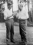 Kandinsky with Josef Albers , 1920
