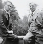 with Will Grohmann, 1930