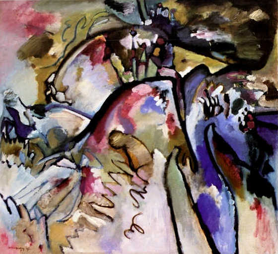 Improvisation 21a (1911)  by Wassily Kandinsky