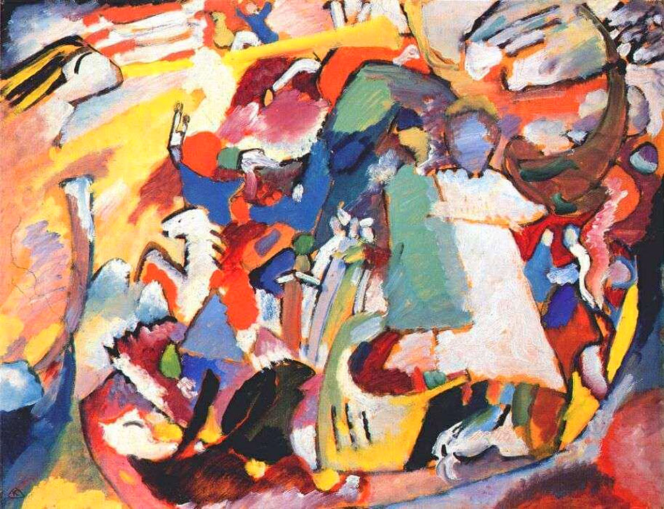 All Saints Day, 1911 by Wassily Kandinsky