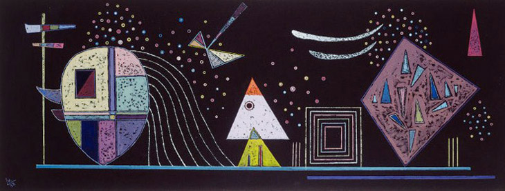 The Green Line (1938)  by Wassily Kandinsky