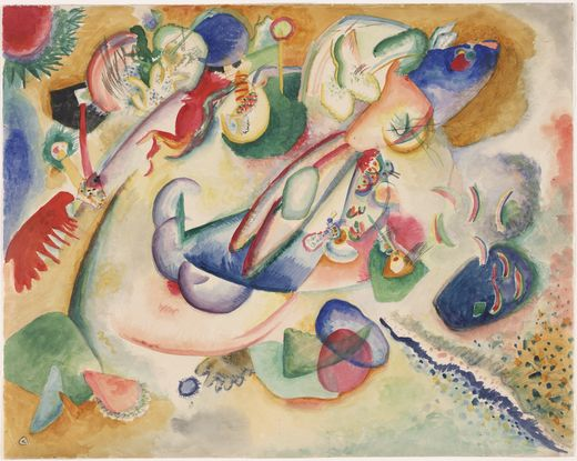 Improvisation (1914)  by Wassily Kandinsky