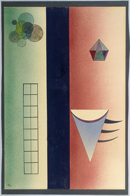 Divided (1928)  by Wassily Kandinsky