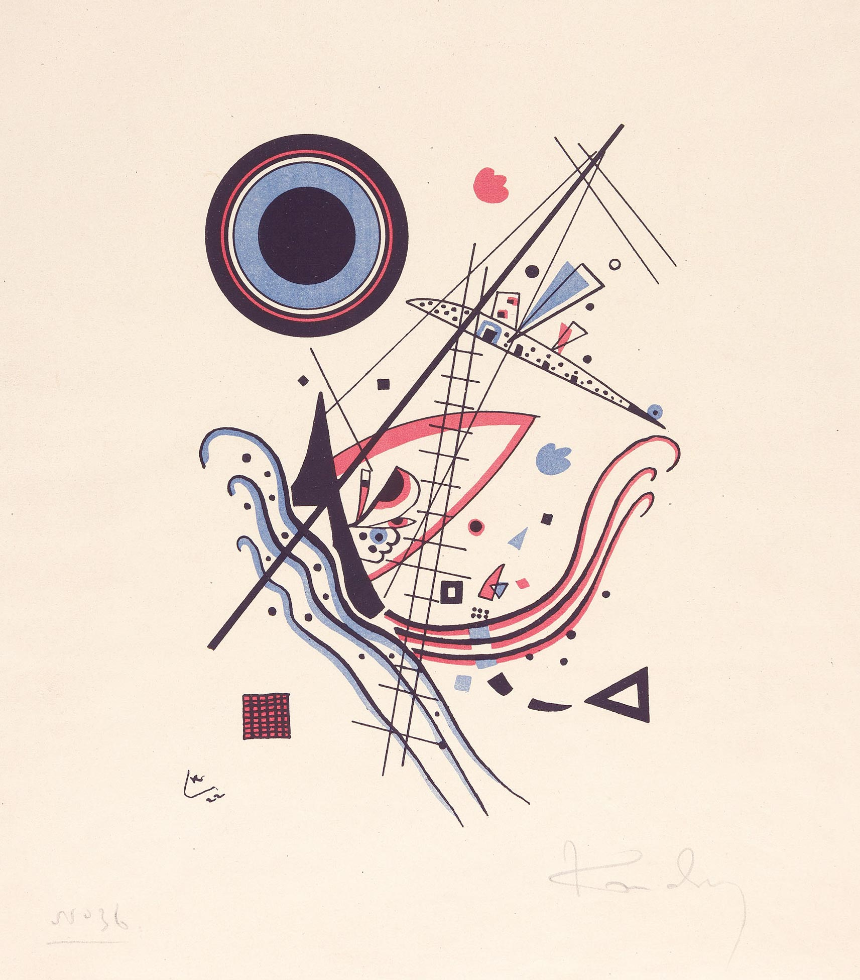 Blue (1922)  by Wassily Kandinsky