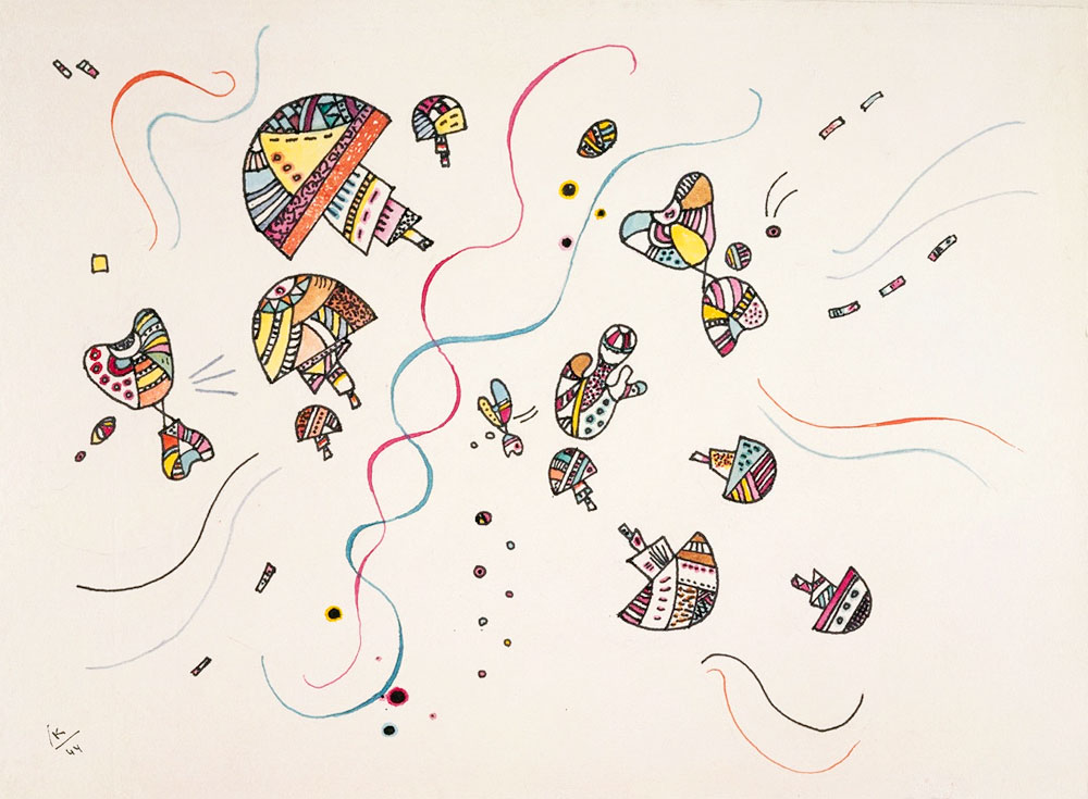 Last Watercolour (1944)  by Wassily Kandinsky