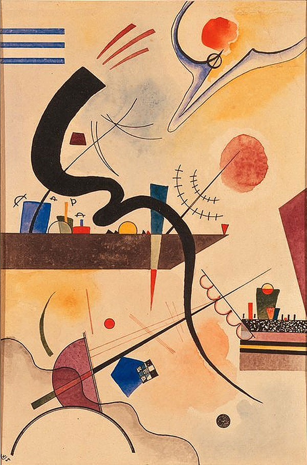 Calm Bend (1924)  by Wassily Kandinsky