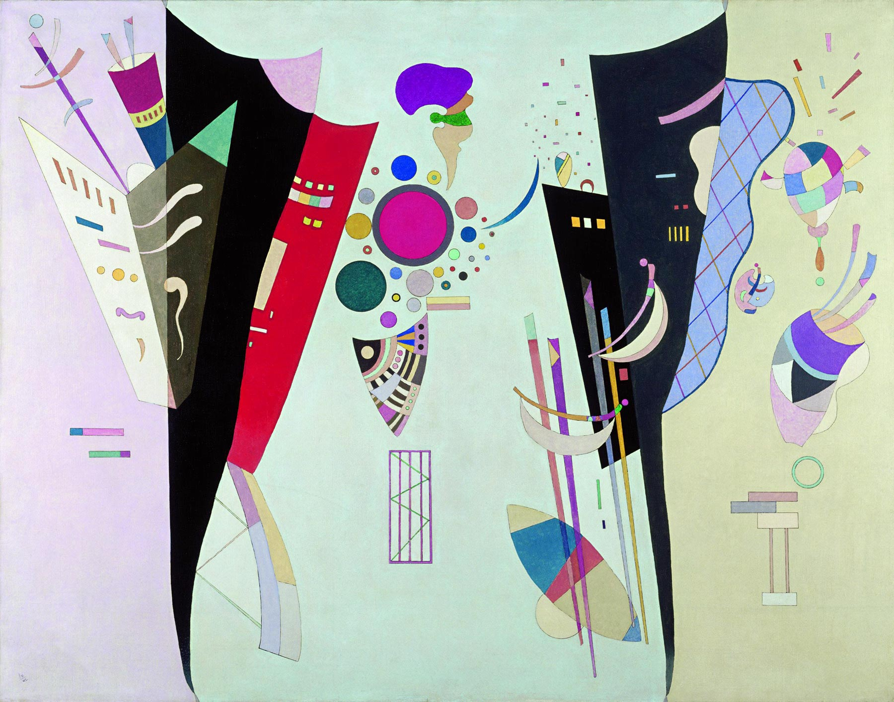 Reciprocal Accords (1942)  by Wassily Kandinsky