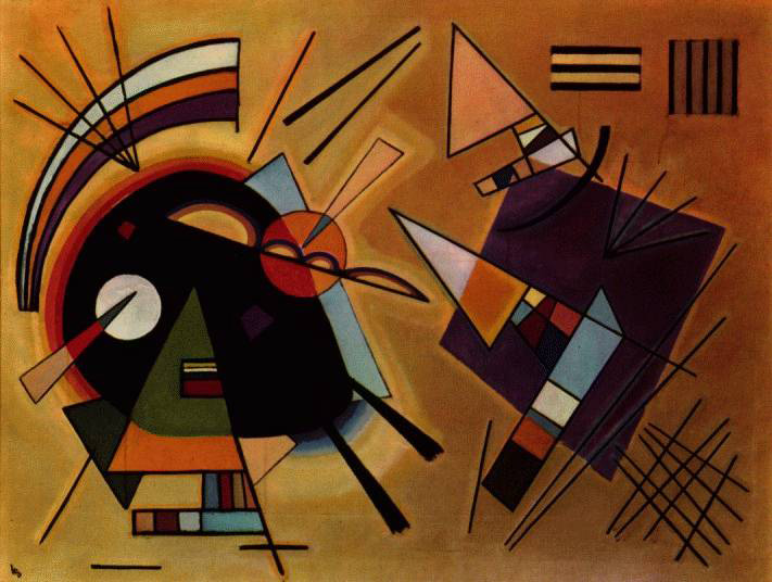 Painter Wassily Kandinsky. ������ � �������.