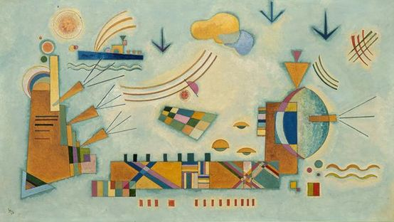 Painter Wassily Kandinsky. ������ �������. 1932 year