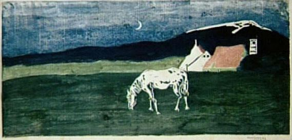 Twilight (1903)  by Wassily Kandinsky