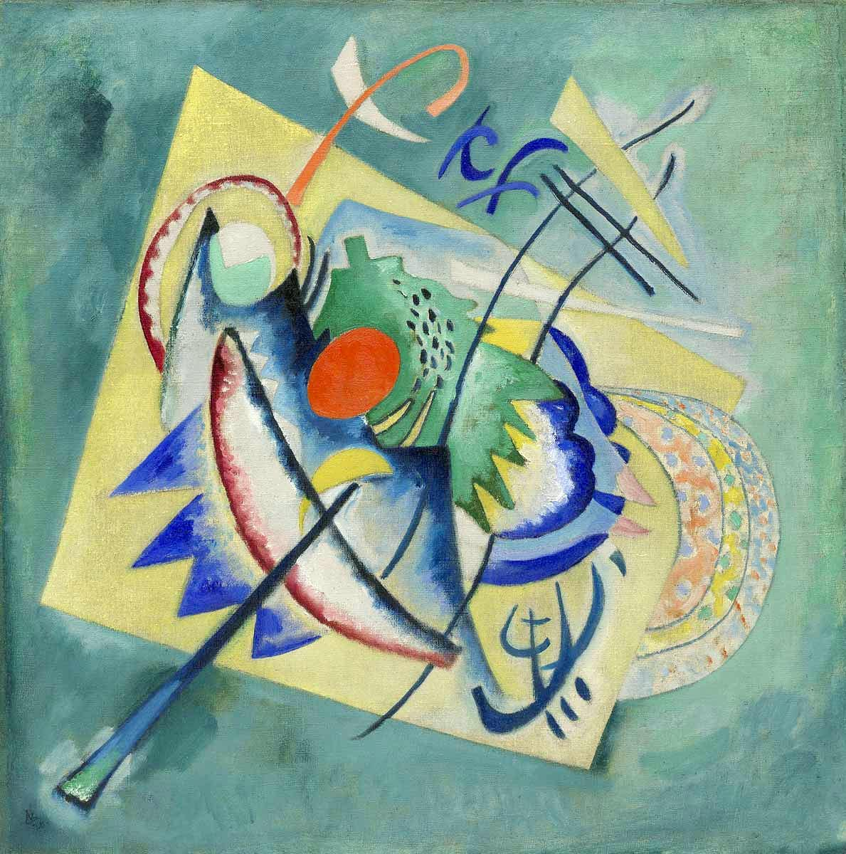 Painter Wassily Kandinsky. ������� ����. 1913 year