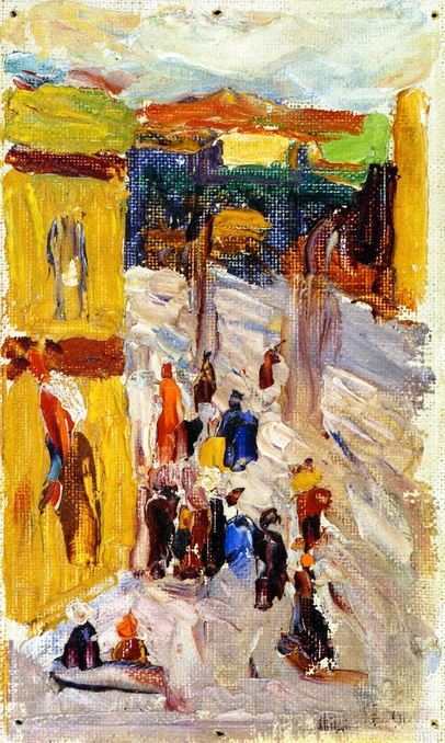 Painter Wassily Kandinsky. �� ���� �����. 1922 year