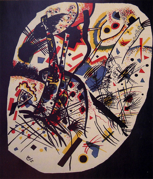 Small Worlds III (1922)  by Wassily Kandinsky