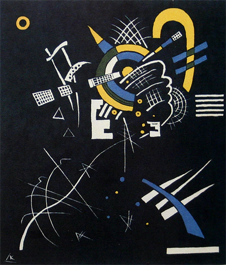 Small Worlds VII (1922)  by Wassily Kandinsky