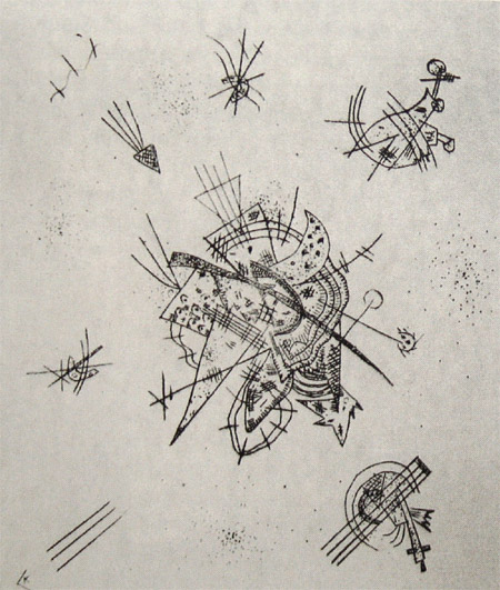 Small Worlds X (1922)  by Wassily Kandinsky