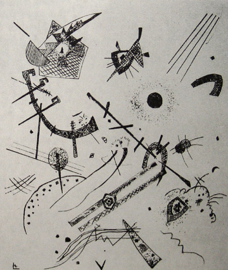 Small Worlds XI (1922)  by Wassily Kandinsky
