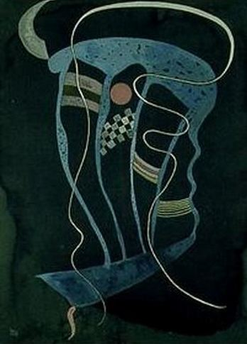 Wilful Line (1936)  by Wassily Kandinsky