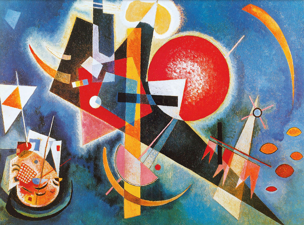 Wassily Kandinsky. In Blue, 1925