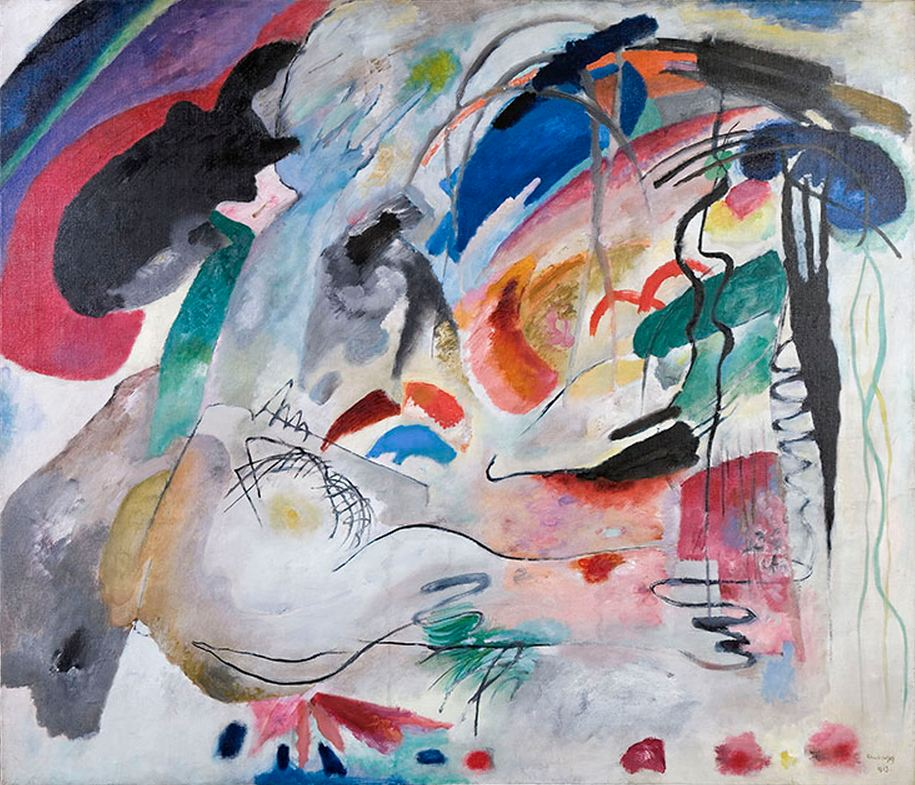 Improvisation 34 (1913)  by Wassily Kandinsky
