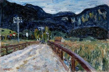 The Bridge (1902)  by Wassily Kandinsky