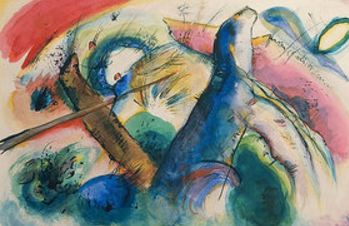 Composition (1916)  by Wassily Kandinsky