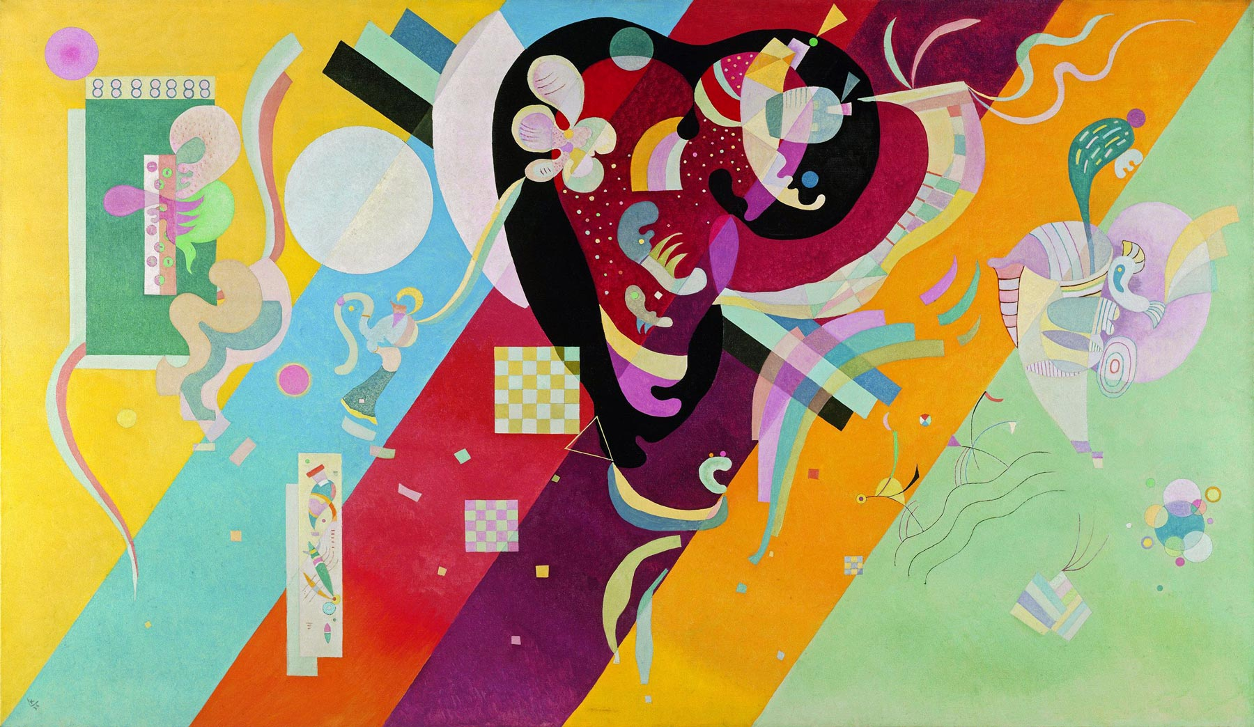 Composition IX (1936)  by Wassily Kandinsky