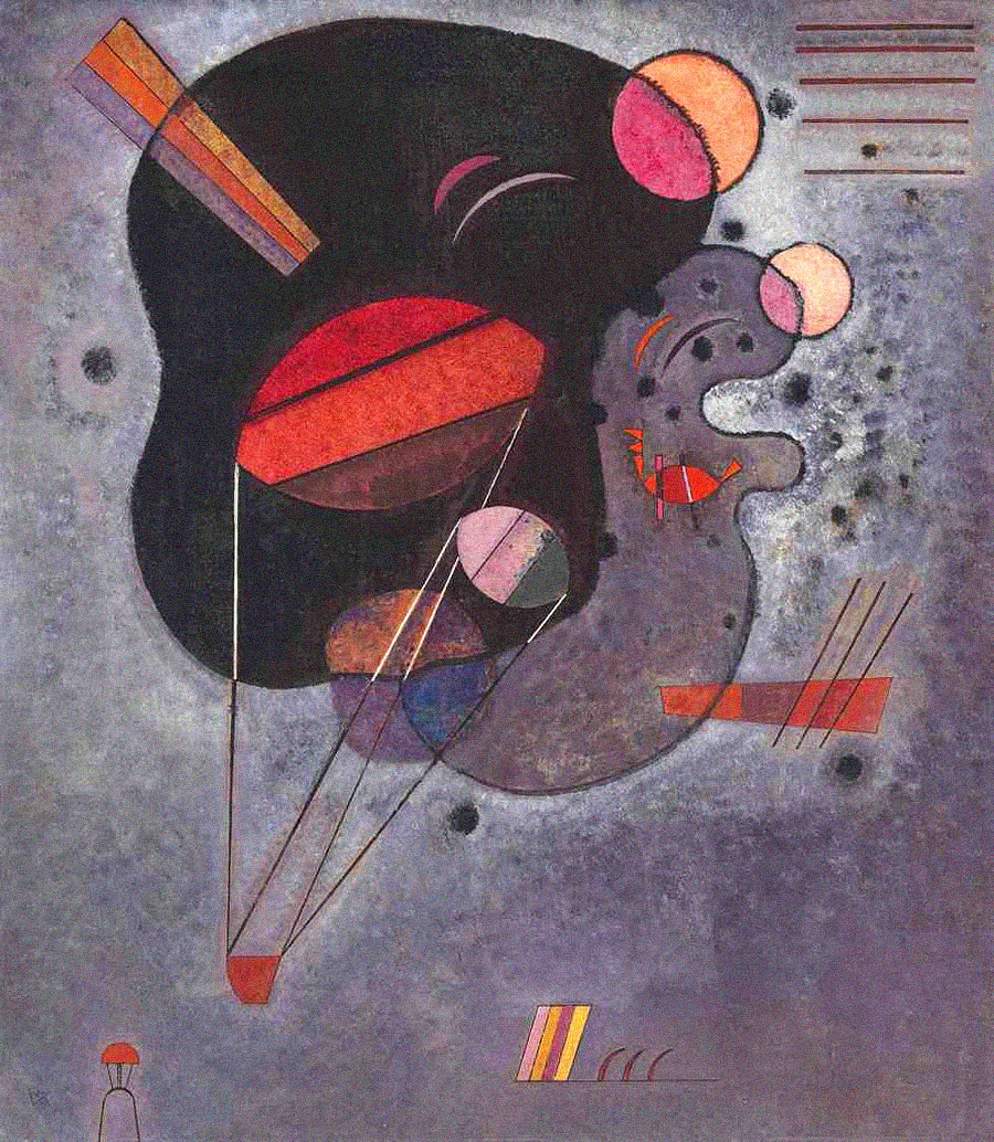 Floating Pressure (1931)  by Wassily Kandinsky