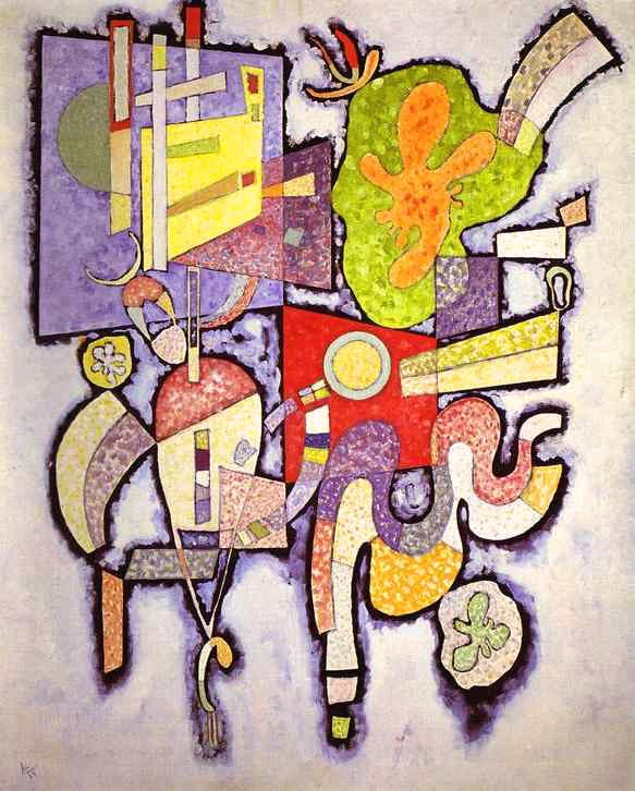 Complex-Simple (1939)  by Wassily Kandinsky