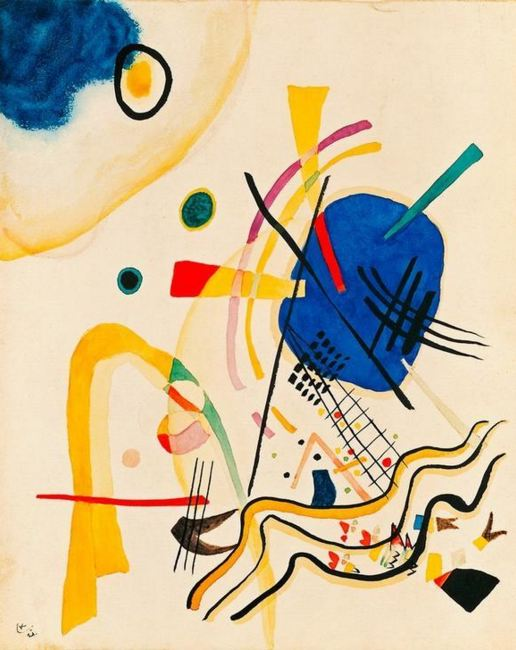 Untitled (1921)  by Wassily Kandinsky