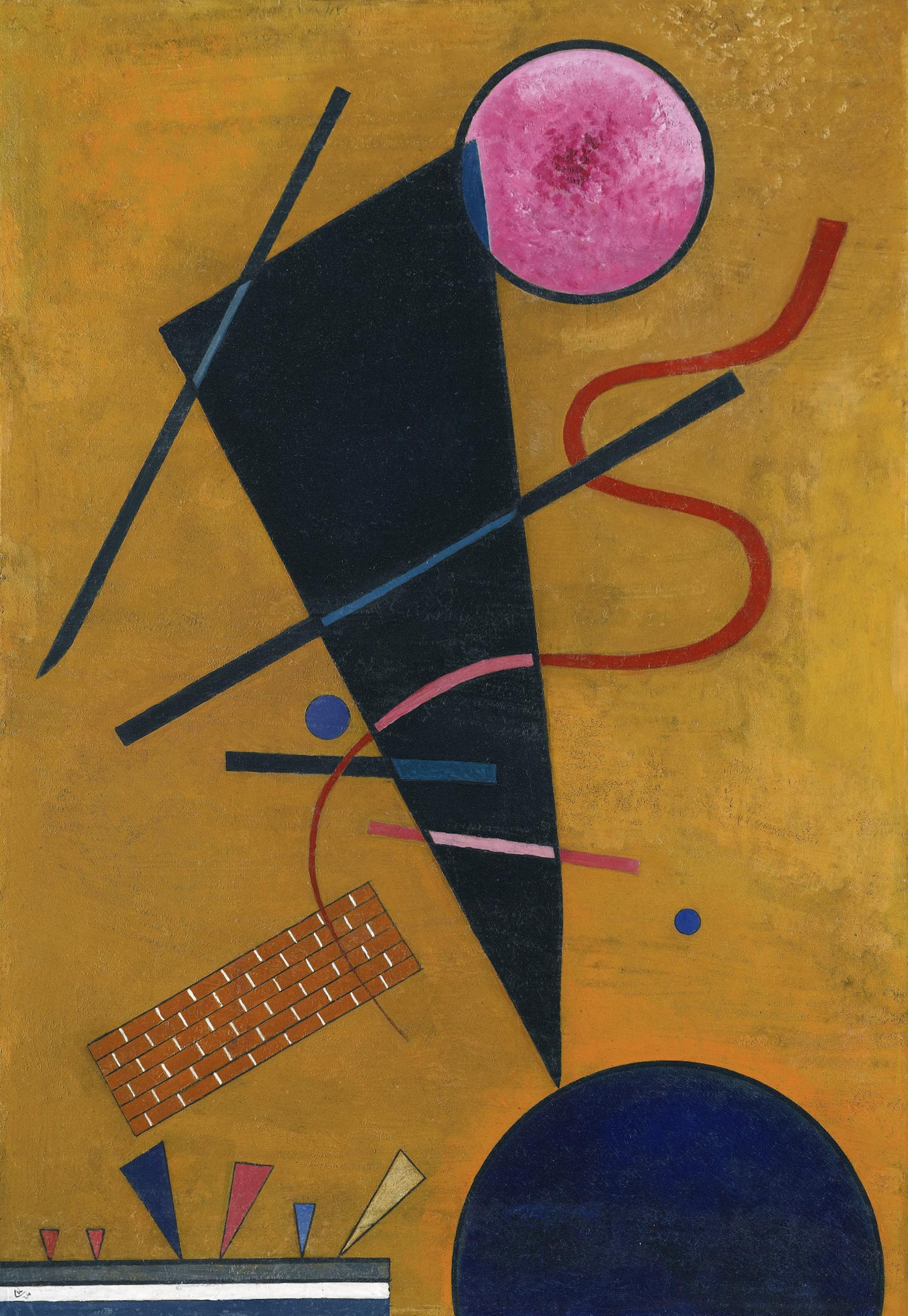 РЎontact (1924)  by Wassily Kandinsky