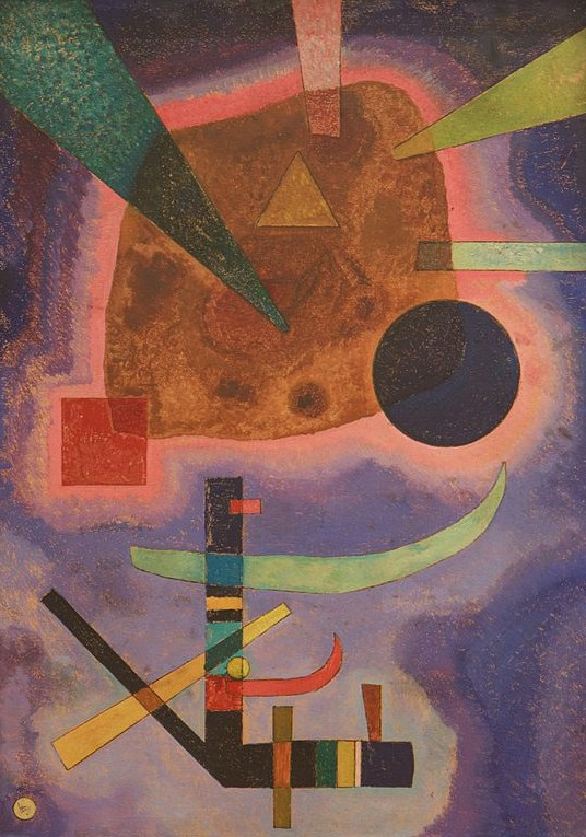 Three Elements (1925)  by Wassily Kandinsky