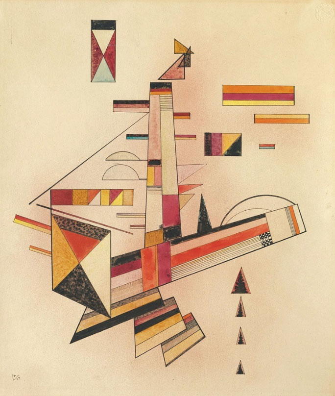 Determined (1929)  by Wassily Kandinsky
