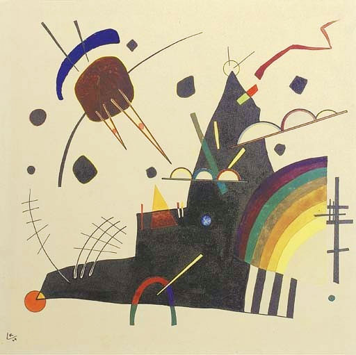 Solid I (1924)  by Wassily Kandinsky