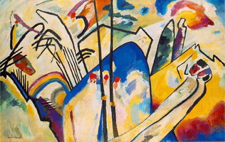 Composition IV (1911) by Wassily Kandinsky