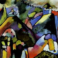 Improvisation 9 (1910) by Wassily Kandinsky