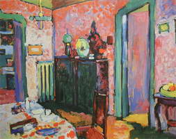 Interior (My Dining Room) (1909) by Wassily Kandinsky