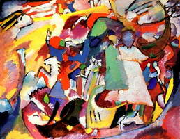 All Saints Day l (1911) by Wassily Kandinsky