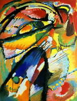 Angel of the Last Judgment (1911) by Wassily Kandinsky