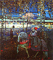 Wassily Kandinsky. Couple Riding, 1906