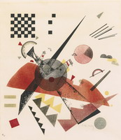 Wassily Kandinsky. Orange, 1923