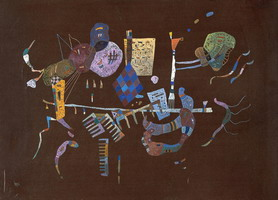 Around the Line (1943) by Wassily Kandinsky