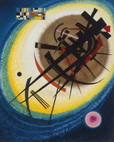Wassily Kandinsky. In the Bright Oval, 1915