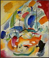 Improvisation 31 (Sea Battle) (1913) by Wassily Kandinsky