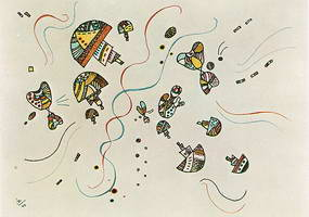 Wassily Kandinsky. Last Watercolour, 1944