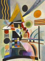 Swinging (1925) by Wassily Kandinsky