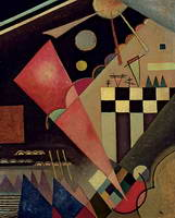 Quiet Pink (1924) by Wassily Kandinsky