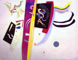 Violet-Orange (1935) by Wassily Kandinsky