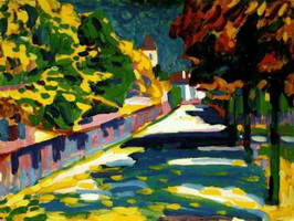 Autumn in Bavaria (1908) by Wassily Kandinsky