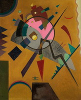 Rose with Gray (1924) by Wassily Kandinsky